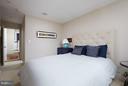 Second bedroom w/ en-suite bath - 1217 T ST NW, WASHINGTON
