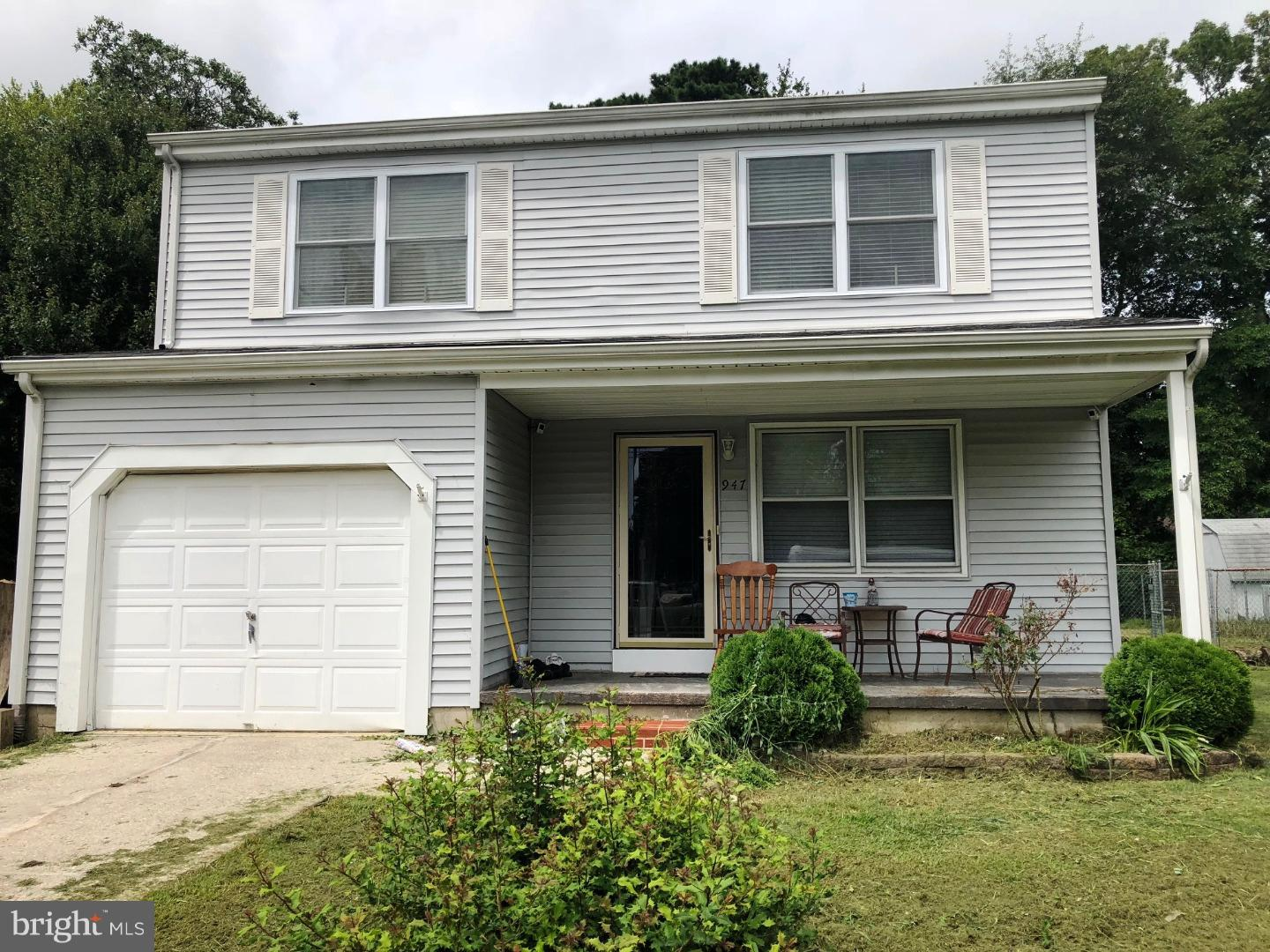 Single Family Home for Sale at 947 CENTER Street Tuckerton, New Jersey 08087 United StatesMunicipality: Little Egg Harbor Twp