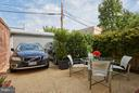 Patio and 2-car parking in back - 1217 T ST NW, WASHINGTON