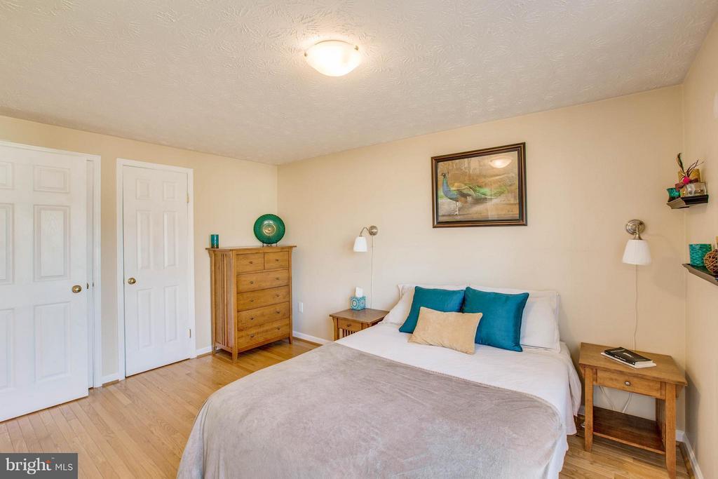 Master Bedroom with lots of closet space - 7427 KILCREGGAN TER, GAITHERSBURG