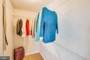 Walk in closet - 7427 KILCREGGAN TER, GAITHERSBURG