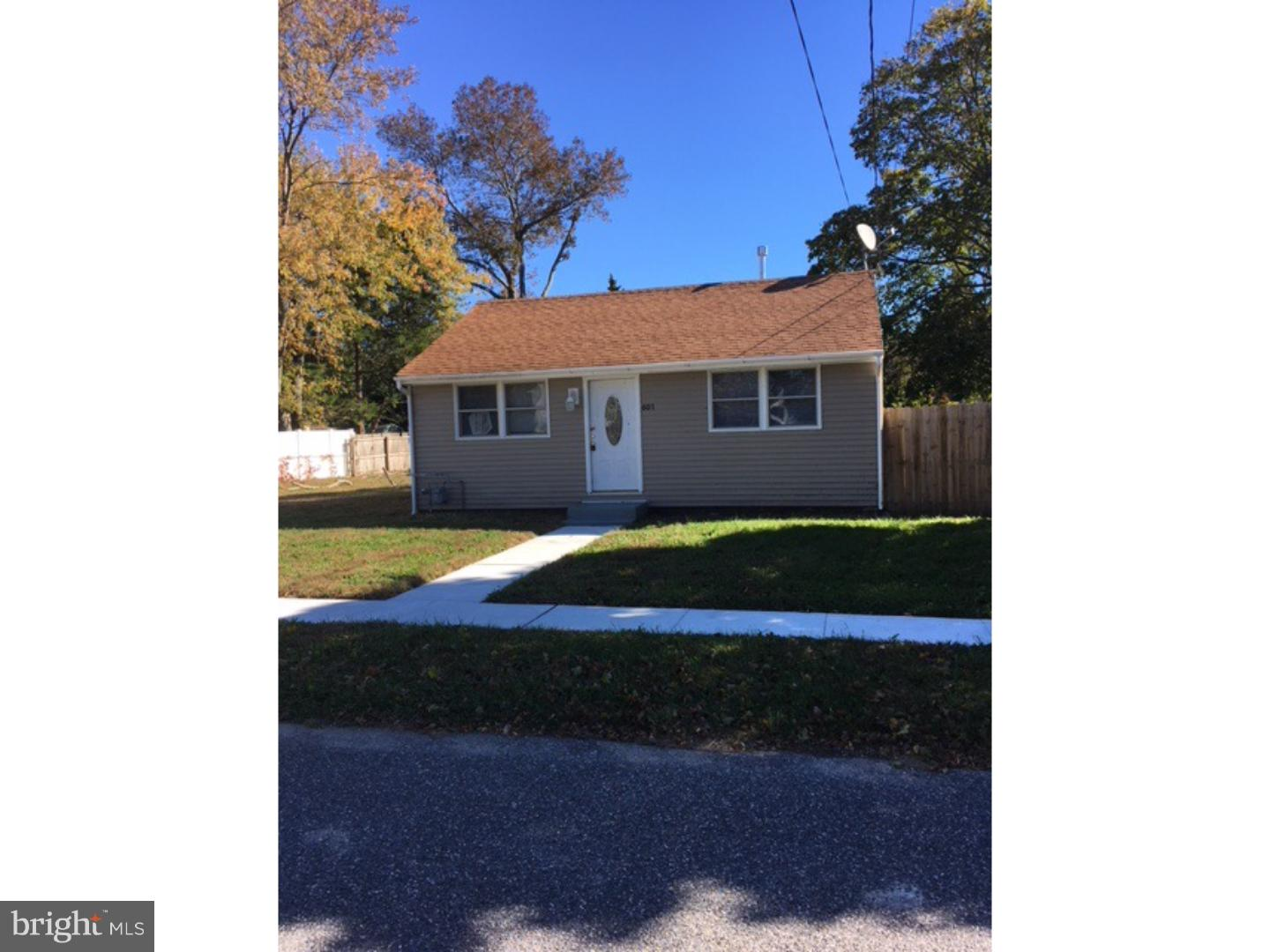 Single Family Home for Sale at 601 GORHAM Avenue Cape May, New Jersey 08204 United States