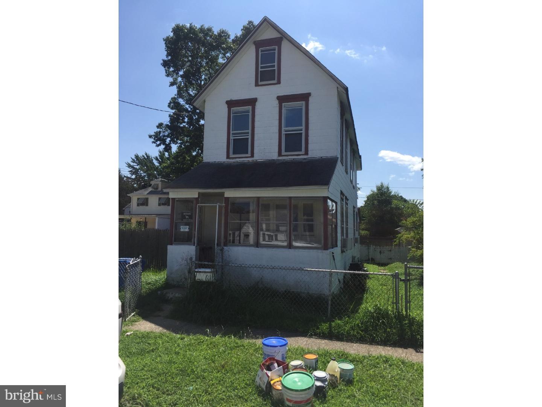 Enfamiljshus för Försäljning vid 704 COLUMBIA BLVD National Park, New Jersey 08063 Förenta staterna