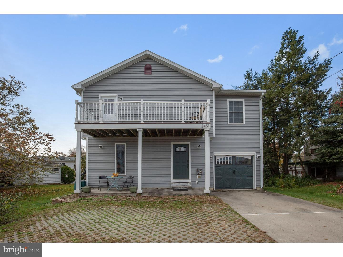 Single Family Home for Sale at 2451 UNION Avenue Pennsauken, New Jersey 08109 United States