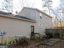 Rear view includes lower platforms & Deck - 103 OAK CT, LOCUST GROVE