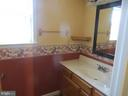 Lower level powder room - 103 OAK CT, LOCUST GROVE