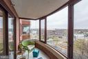 Bonus sunroom! - 2400 CLARENDON BLVD #816, ARLINGTON