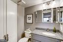 Half bathroom in the living room! - 2400 CLARENDON BLVD #816, ARLINGTON