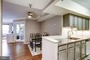 Open layout - 2400 CLARENDON BLVD #816, ARLINGTON