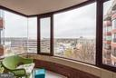 Sunroom with 180-degree views! - 2400 CLARENDON BLVD #816, ARLINGTON