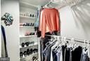Master walk-in closet - 2400 CLARENDON BLVD #816, ARLINGTON