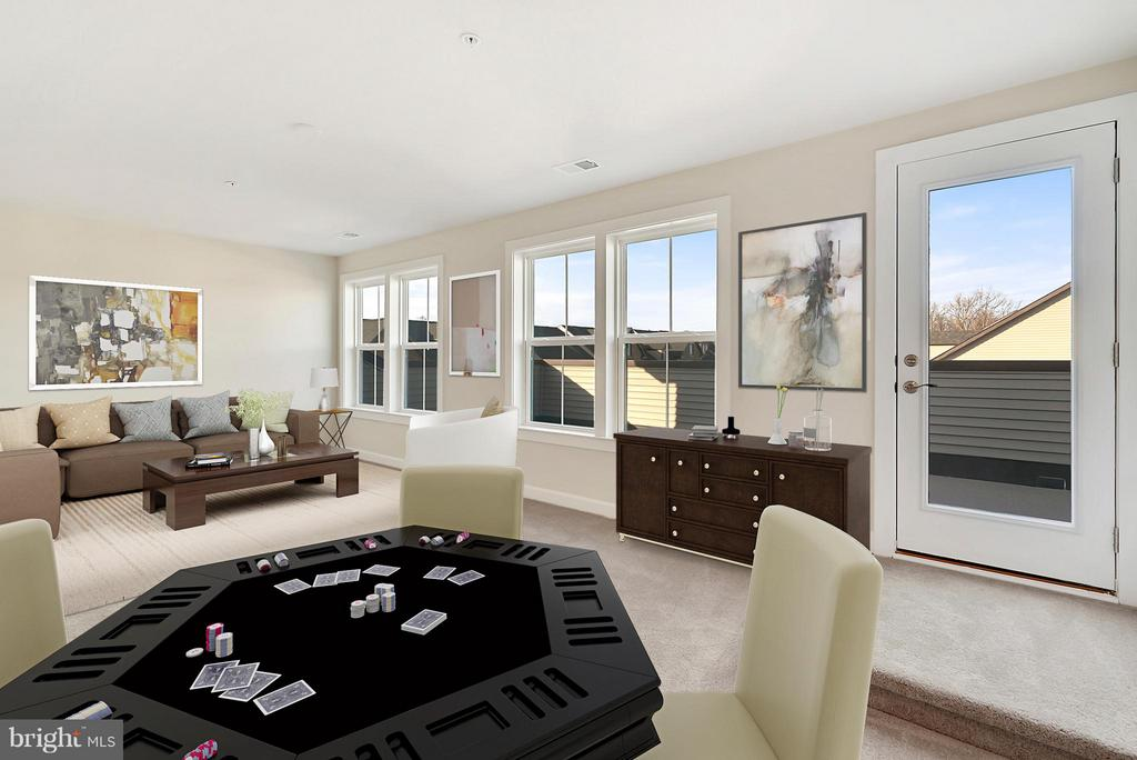 Top level rec room of the roof top - 43337 STADIUM TER, ASHBURN