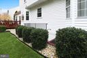Walk-up from Lower Level to Backyard - 43154 PARKERS RIDGE DR, LEESBURG