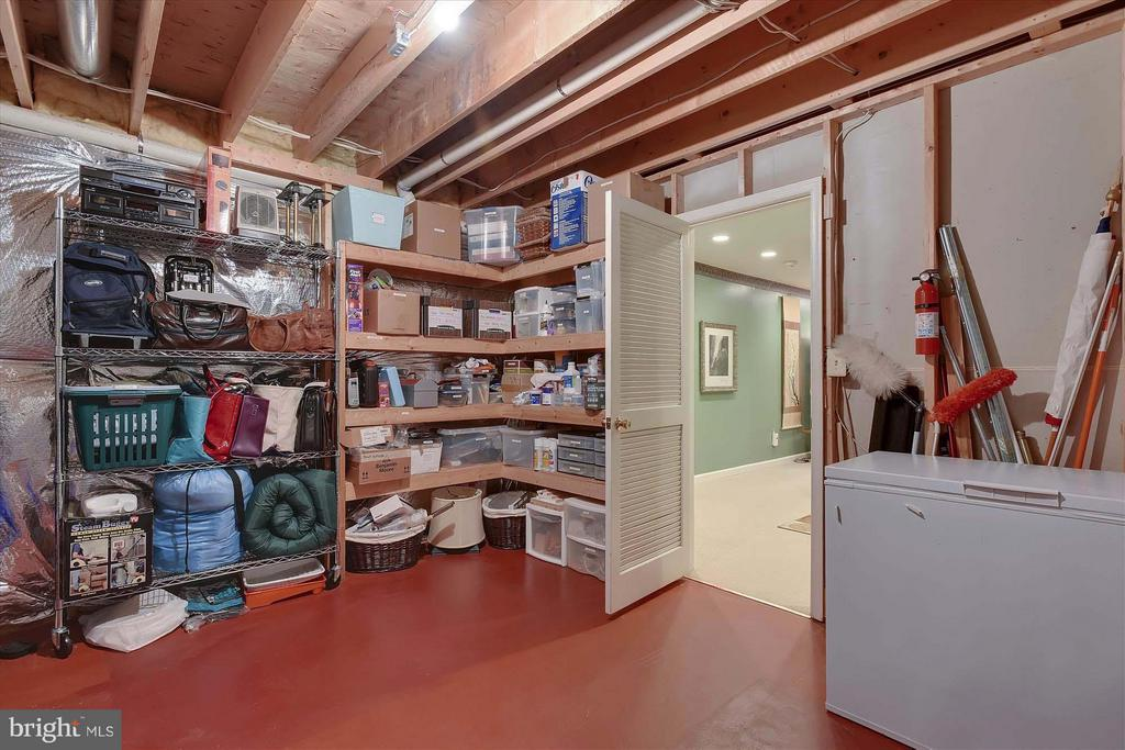 Extra storage and deep freeze in Utility Room - 43154 PARKERS RIDGE DR, LEESBURG