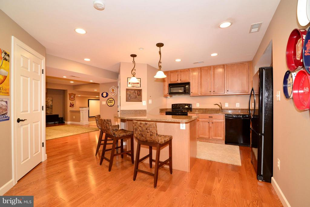An entertainer's dream basement - 21439 BASIL CT, BROADLANDS
