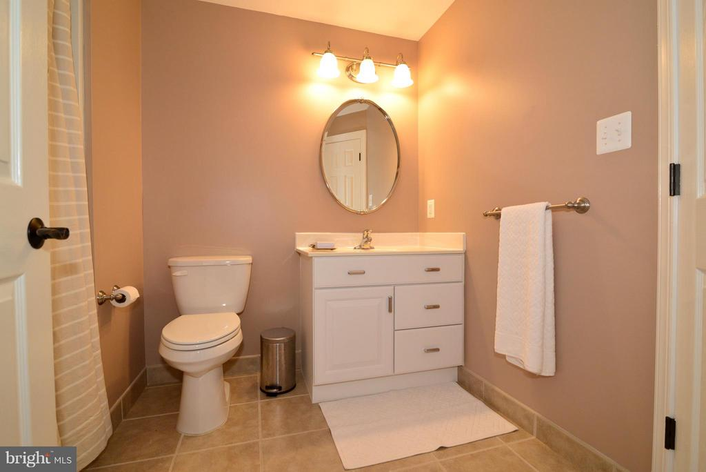 Full Bathroom in Basement - 21439 BASIL CT, BROADLANDS