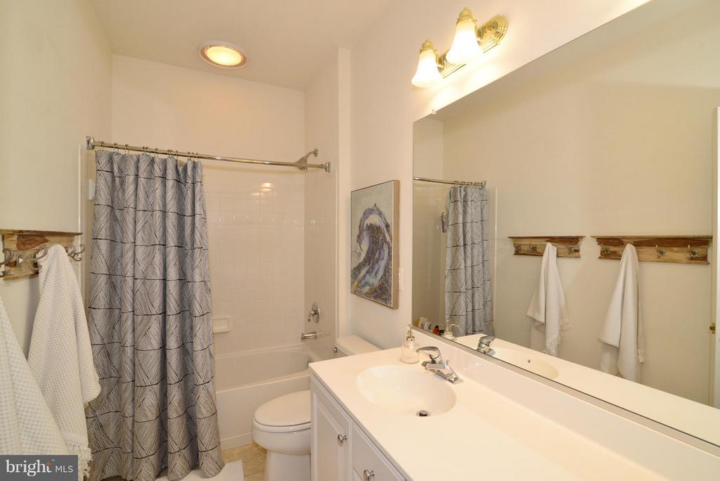Upstairs Hall Bath - 21439 BASIL CT, BROADLANDS