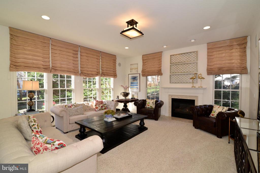 Warm and Inviting Family Room - 21439 BASIL CT, BROADLANDS