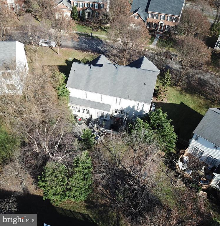 Aerial Rear View of Home - 21439 BASIL CT, BROADLANDS
