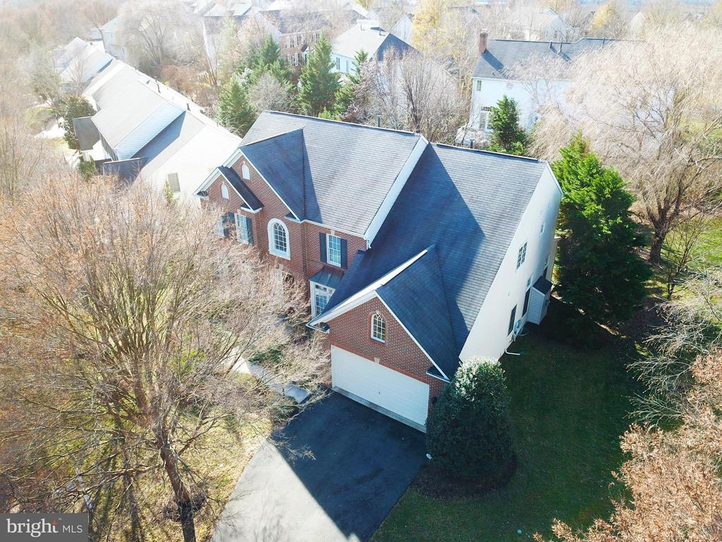 Aerial Front View of Home - 21439 BASIL CT, BROADLANDS