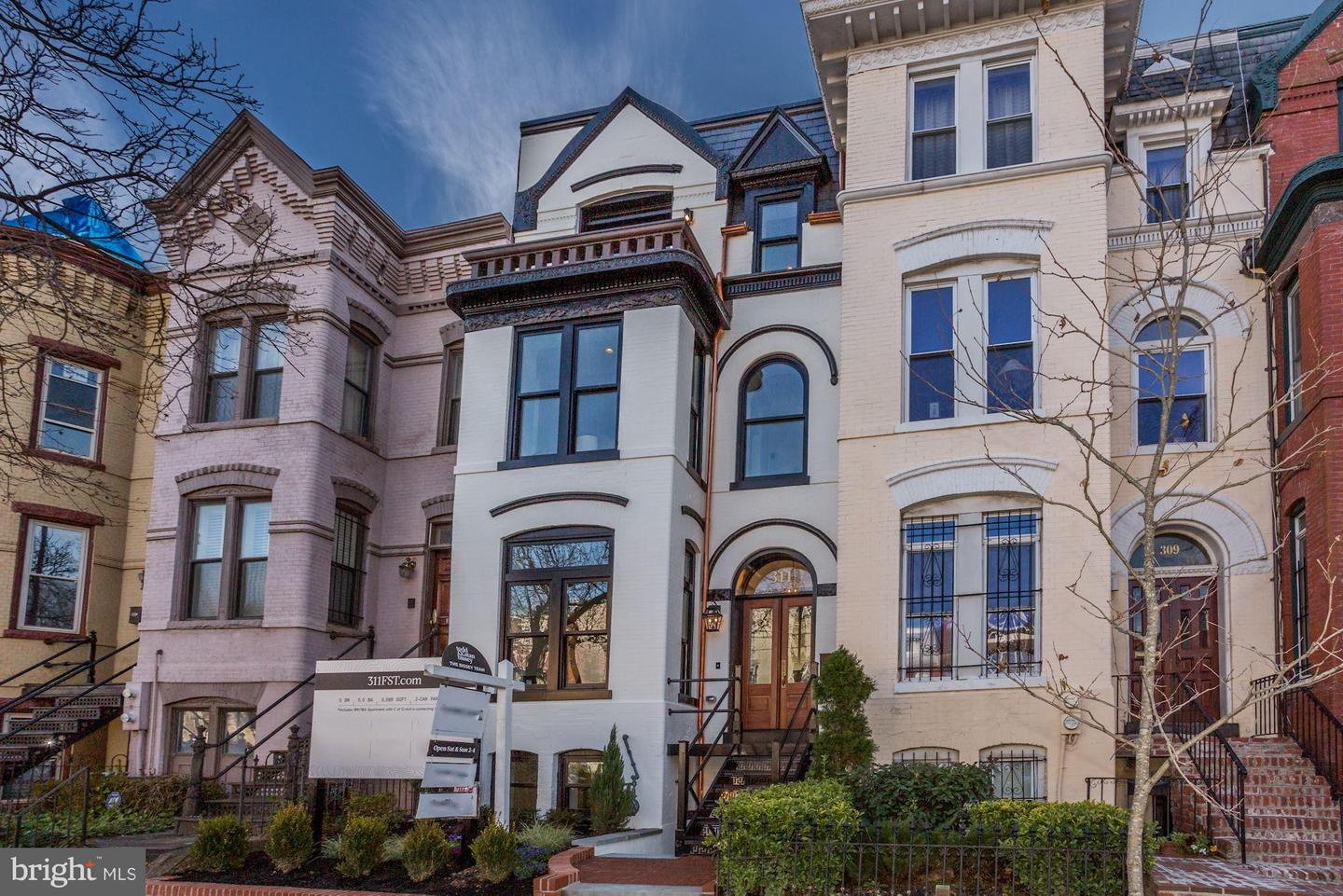 Single Family Home for Sale at 311 F St NE Washington, District Of Columbia 20002 United States