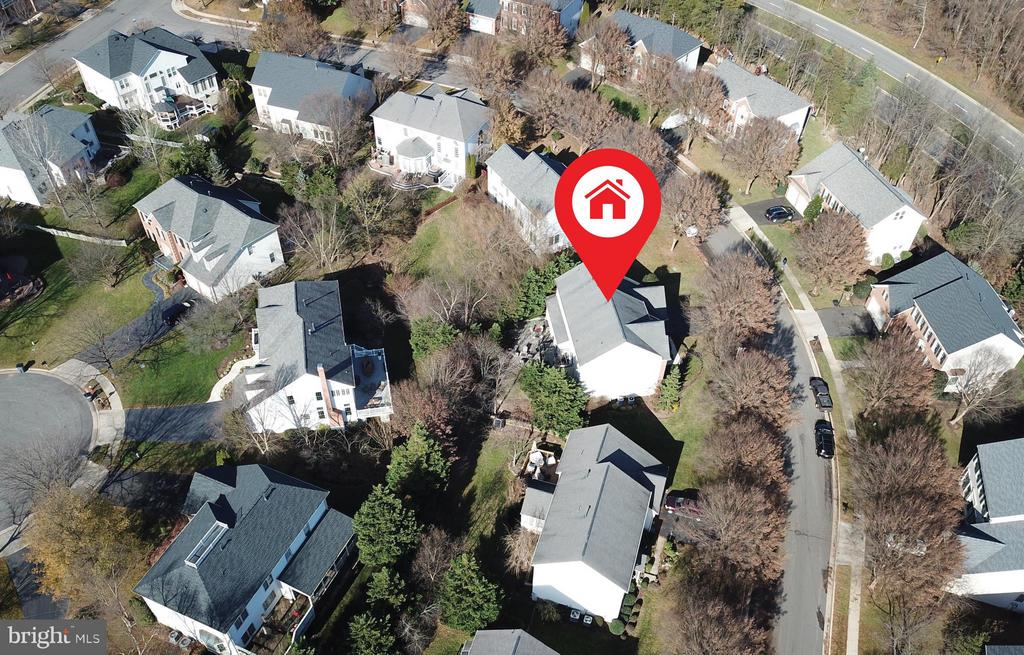 Aerial View of Home - 21439 BASIL CT, BROADLANDS