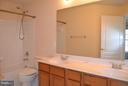Hall Full Bathroom - 13439 WOOD LILLY LN, CENTREVILLE