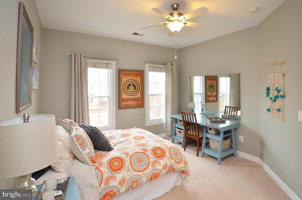 Bedroom 1 - freshly painted and new carpet - 18490 ORCHID DR, LEESBURG