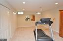 Exercise Room Lower Level & lots of storage - 18490 ORCHID DR, LEESBURG