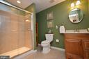 Lower Level Full Bath - 18490 ORCHID DR, LEESBURG