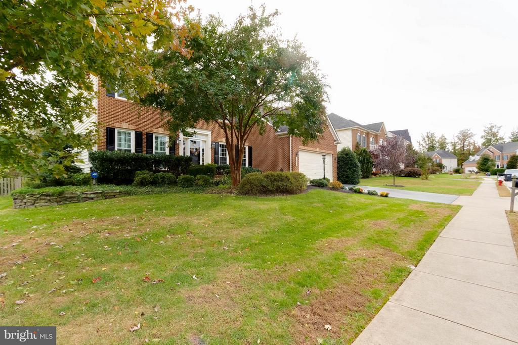 Lovely landscaping - 18490 ORCHID DR, LEESBURG
