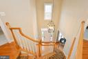 Updated Light fixture and hardwood on stairs - 18490 ORCHID DR, LEESBURG