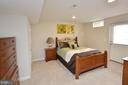 Lower Level Bedroom - 18490 ORCHID DR, LEESBURG
