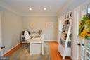Main Level Office - sunny and bright - 18490 ORCHID DR, LEESBURG