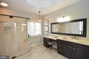 Custom cabinets with soft close draws - 18490 ORCHID DR, LEESBURG