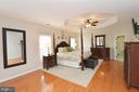 Master bedroom has 2 walk in closets - 18490 ORCHID DR, LEESBURG