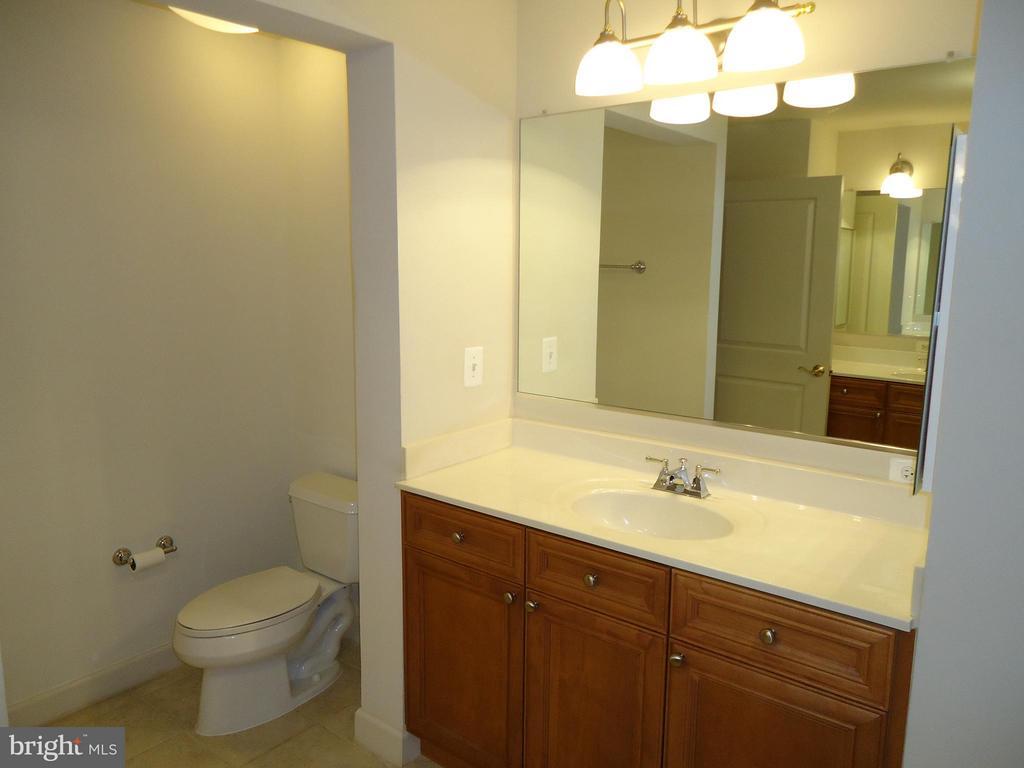 Master Bath Vanity # 1 and Separate Toilet Area - 485 HARBOR SIDE ST #306, WOODBRIDGE