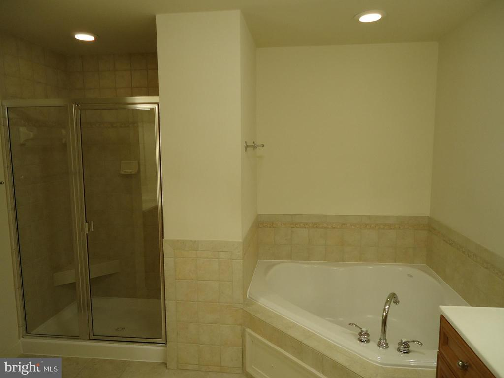 Master Bath - Relax in Your Large Soaking Tub - 485 HARBOR SIDE ST #306, WOODBRIDGE