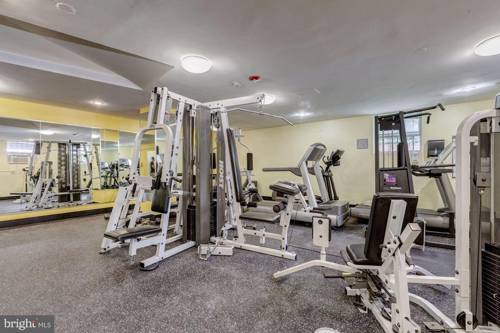 State-of-the-art Fitness Center - 2500 Q ST NW #746, WASHINGTON