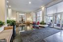 Secured entrance, fabulous lobby & lounge space - 2500 Q ST NW #746, WASHINGTON