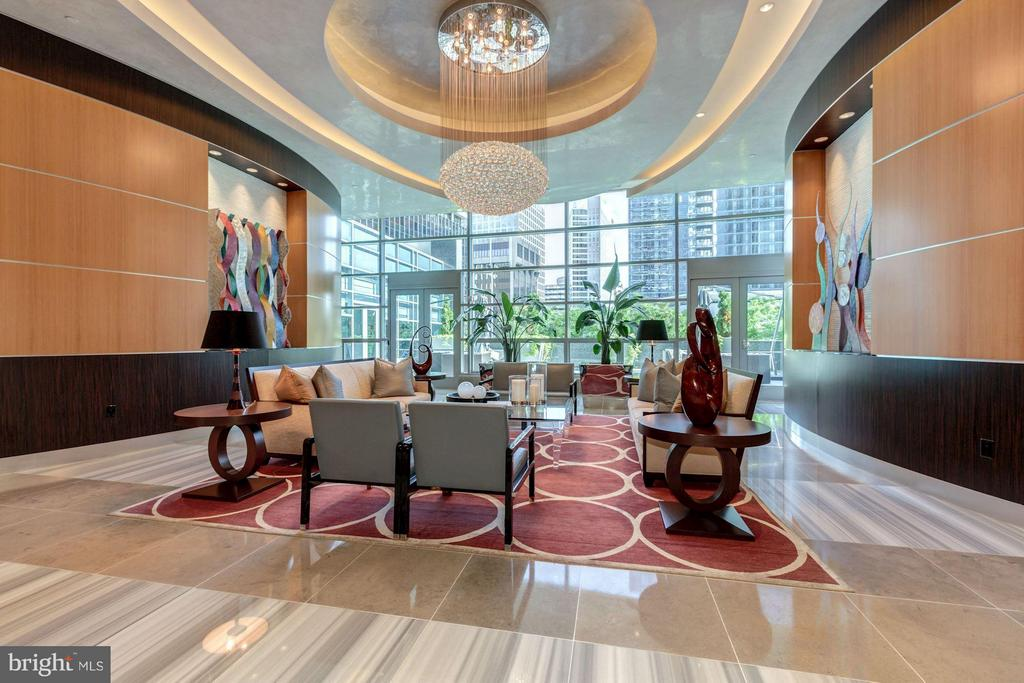 Turnberry Tower Lobby - 1881 N NASH ST #TS01, ARLINGTON