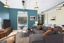 Rendering of 2nd bedroom - possible to build - 1600 CLARENDON BLVD #W212, ARLINGTON