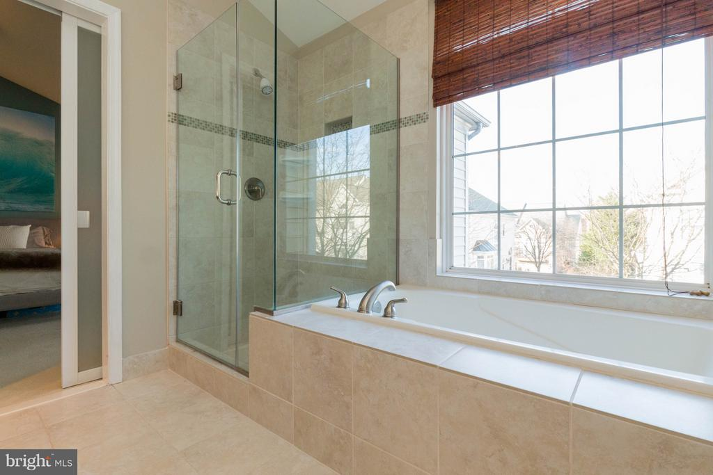 Remodeled Master Bath - 1978 LOGAN MANOR DR, RESTON