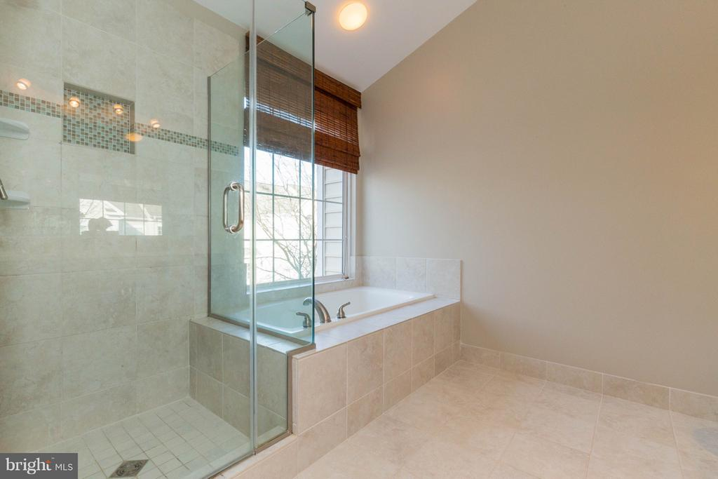 Soaking Tub and Separate Shower - 1978 LOGAN MANOR DR, RESTON