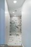 Master bath- marble tile - 1245 PIERCE ST N #8, ARLINGTON