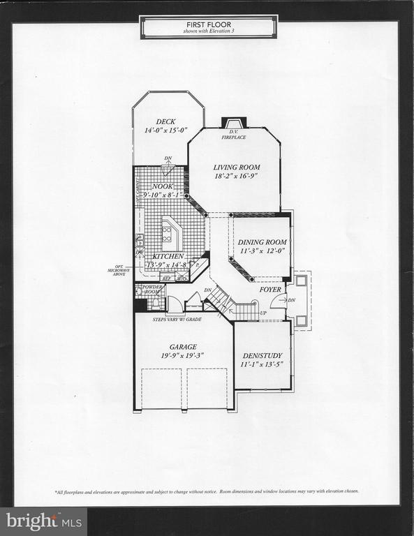 Builder Brochure~- Custom changes not shown - 18210 CYPRESS POINT TER, LEESBURG