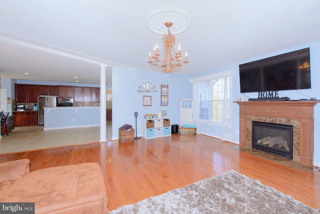 Family Room - 130 BRITTANY MANOR WAY, STAFFORD
