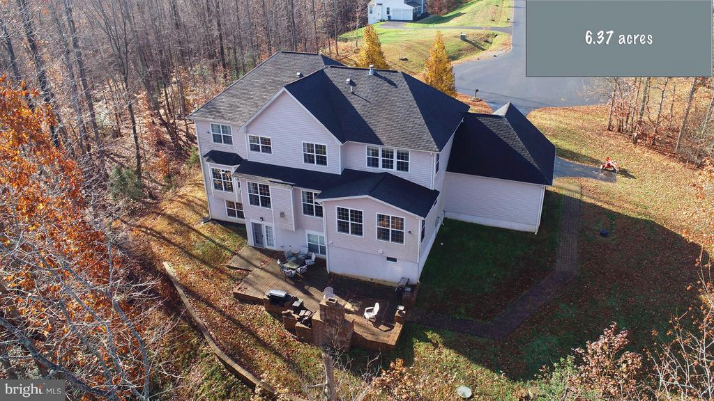 Rear Sky View of Home - 130 BRITTANY MANOR WAY, STAFFORD