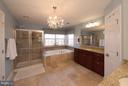 Master Bedroom Bath - 130 BRITTANY MANOR WAY, STAFFORD