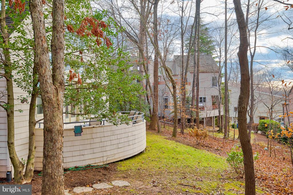 Mature Trees Give Added Privacy - 11581 GREENWICH POINT RD, RESTON
